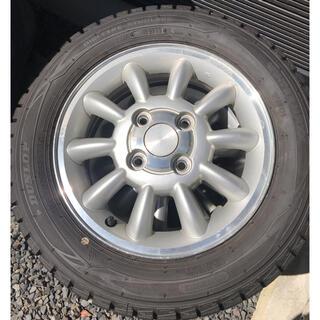 ダンロップ(DUNLOP)の155/65R13 スタッドレス(タイヤ・ホイールセット)