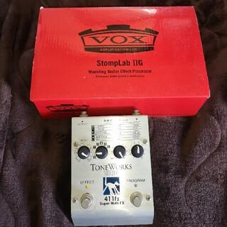 ヴォックス(VOX)のVox StompLab ⅡG / Korg ToneWorks 411fx(エフェクター)