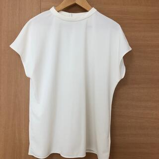 ユニクロ(UNIQLO)のユニクロ クレープジャージーフレンチスリーブ Tシャツ(シャツ/ブラウス(半袖/袖なし))