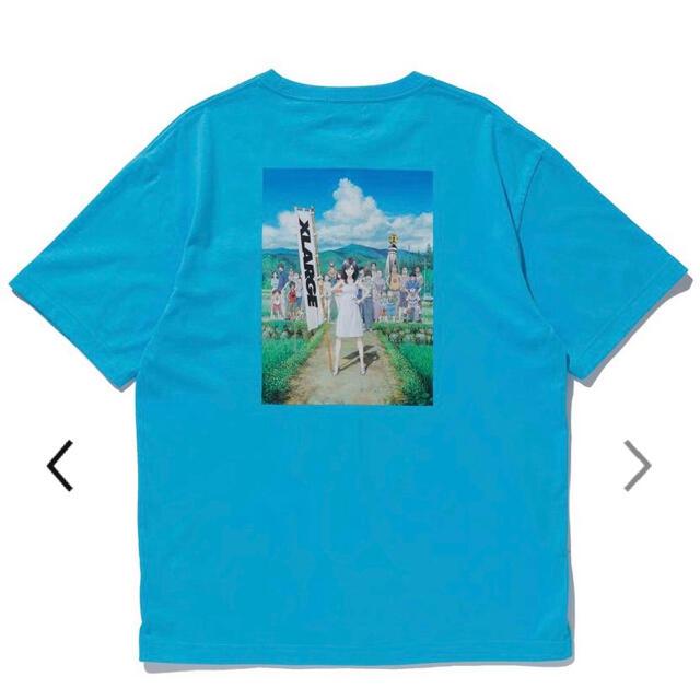XLARGE(エクストララージ)のXLARGEエクストララージサマーウォーズコラボポケットTシャツLサイズ メンズのトップス(Tシャツ/カットソー(半袖/袖なし))の商品写真