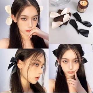 ヘアクリップ リボン ヘアアクセサリー 髪飾り バレッタ 韓国ファッション(バレッタ/ヘアクリップ)