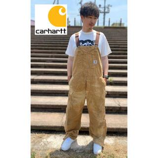 カーハート(carhartt)のCarharttカーハートヴィンテージ オーバーオール 希少 レア 古着(サロペット/オーバーオール)