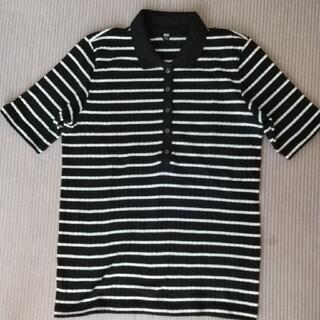 ユニクロ(UNIQLO)のユニクロ ボーダーポロシャツ(ポロシャツ)
