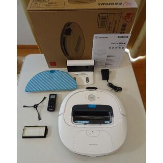 アイリスオーヤマ - アイリスオオヤマ ロボット掃除機 ホワイト IC-R01-W