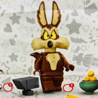レゴ(Lego)の新品未使用 LEGO ミニフィグ 71030 ワイリーコヨーテ(積み木/ブロック)