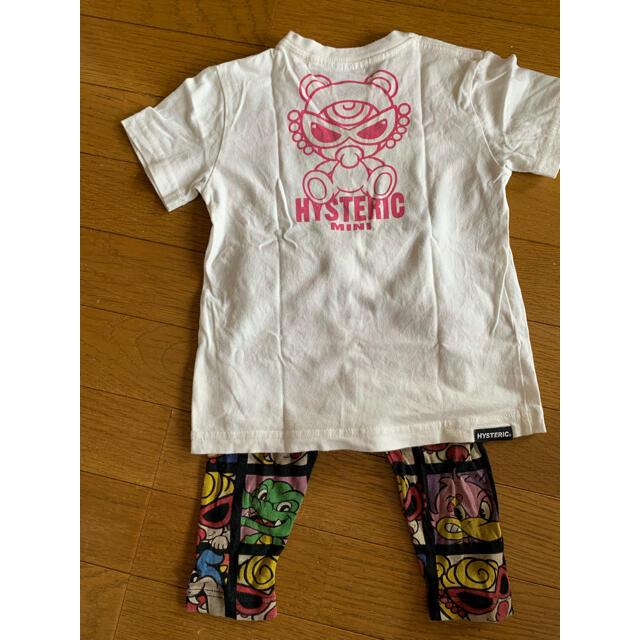 HYSTERIC MINI(ヒステリックミニ)のヒスミニ Tシャツ レギンス キッズ/ベビー/マタニティのキッズ服女の子用(90cm~)(Tシャツ/カットソー)の商品写真