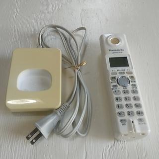 パナソニック(Panasonic)の😄KX-FKN526-W💪パナソニック😎Panasonic😀電話子機(その他)