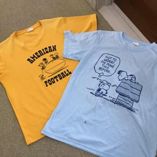 PEANUTS - スヌーピー Tシャツ 2枚 SNOOPY ピーナッツ
