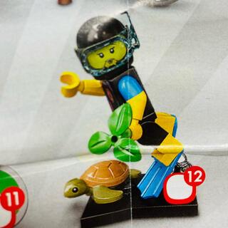 レゴ(Lego)の新品未使用 LEGO ミニフィグ 71027 スキューバーダイバー(積み木/ブロック)