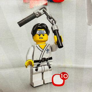 レゴ(Lego)の新品未使用 LEGO ミニフィグ 71027 ヌンチャク男(積み木/ブロック)