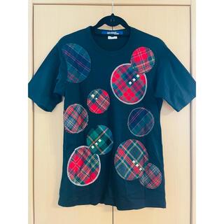 ジュンヤワタナベコムデギャルソン(JUNYA WATANABE COMME des GARCONS)のジュンヤワタナベ マン スタッズ チェックカットソー(Tシャツ/カットソー(半袖/袖なし))