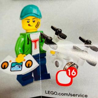 レゴ(Lego)の新品未使用 LEGO ミニフィグ 71027 ドローン男子(積み木/ブロック)