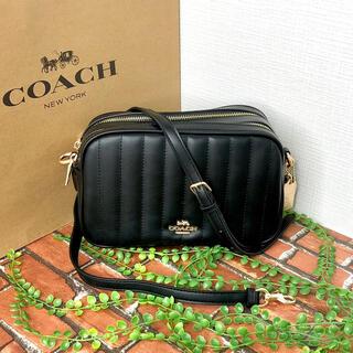 COACH - ≪COACH≫ショルダーバッグ キルティング ブラック