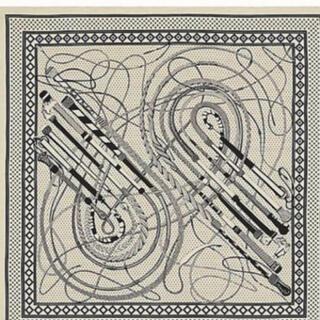 エルメス(Hermes)のエルメス バンダナ カシシル ベージュ 140(バンダナ/スカーフ)