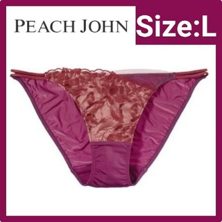 PEACH JOHN - PEACH JOHN(ピーチジョン)ディープVフローラパンティ ショーツL
