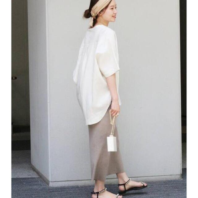 IENA(イエナ)のIENA リネンドルマンシャツ メンズのトップス(Tシャツ/カットソー(半袖/袖なし))の商品写真