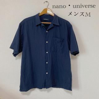 nano・universe - ナノユニバース nano・universe 半袖シャツ
