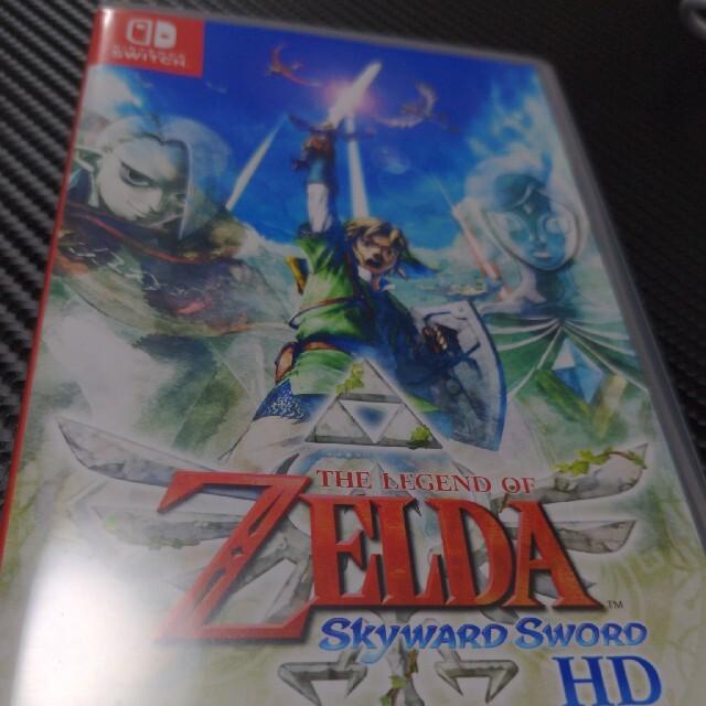 Nintendo Switch(ニンテンドースイッチ)のゼルダの伝説スカイウォードソード エンタメ/ホビーのゲームソフト/ゲーム機本体(家庭用ゲームソフト)の商品写真