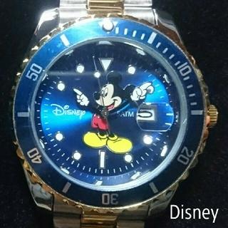 ディズニー(Disney)のDisney 限定/Mickeyミッキーマウス別注コラボ時計(腕時計(アナログ))