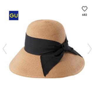 ジーユー(GU)のGU 折り畳み麦わら帽子(麦わら帽子/ストローハット)