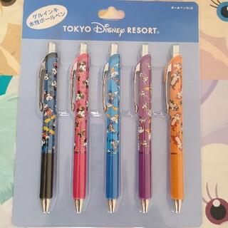 Disney - ディズニー 水性ボールペン ミッキーフレンズ ゲルインキ