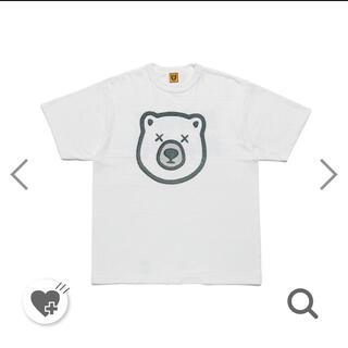 A BATHING APE - XL HUMAN MADE KAWS T-Shirt #5 White