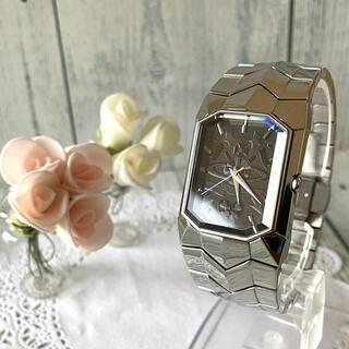 ヴィヴィアンウエストウッド(Vivienne Westwood)の【動作OK】vivienne ヴィヴィアン 腕時計 オクタゴン シルバー(腕時計(アナログ))