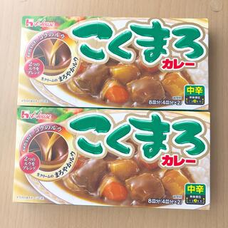 ハウスショクヒン(ハウス食品)のこくまろカレー(中辛)2個(レトルト食品)