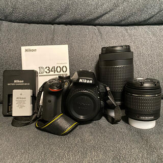 Nikon - Nikon 一眼レフ D3400 ダブルズームキット