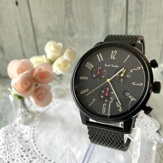 ポールスミス(Paul Smith)の【希少】Paul Smith ポールスミス 腕時計 チャーチストリート ブラック(腕時計(アナログ))