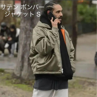 FEAR OF GOD - 最安 fear of god 5th satin bomber jacket S
