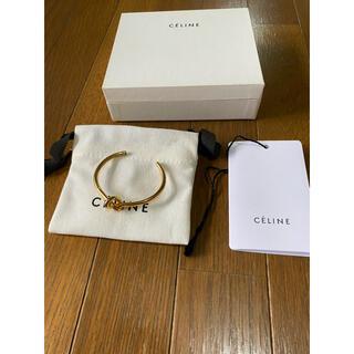 celine - CELINE セリーヌ ノットエクストラシン ブレスレット S バングル