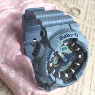 ベビージー(Baby-G)のBABY-G  デニム柄(腕時計)
