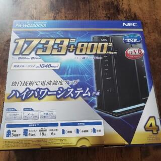 NEC - Aterm WG1800HP4 WiFiルーター NEC