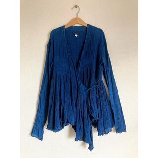 YAECA - dosaドーサ ラバリジャケット 2 indigo インディゴ/藍染/khadi