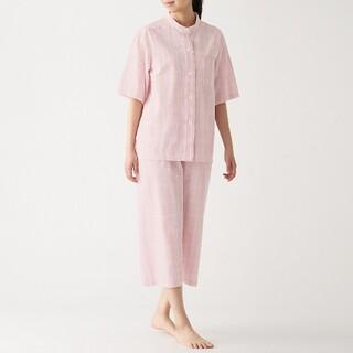 ムジルシリョウヒン(MUJI (無印良品))の無印良品 半袖パジャマ脇に縫い目のない サッカー織S(パジャマ)
