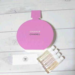 CHANEL - 新品 シャネル チャンス サンプルセット&ステッカー