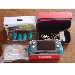 ニンテンドースイッチ(Nintendo Switch)のNintendo Switchライト グレー(携帯用ゲーム機本体)