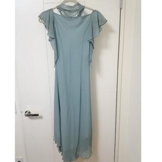 スコットクラブ(SCOT CLUB)のSCOT CLUB ドレス ワンピース 緑(ミディアムドレス)