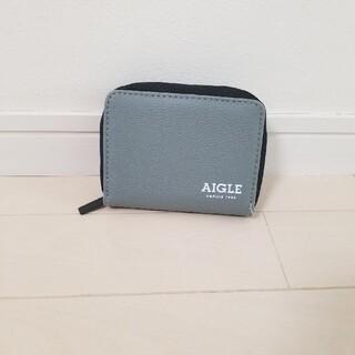 エーグル(AIGLE)の新品◆AIGLE◆グレー 財布 小銭入れ カードケース エーグル 蛇腹(折り財布)