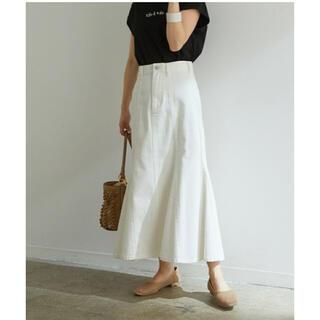 ViS - 【新品】ホワイト スカート ViS