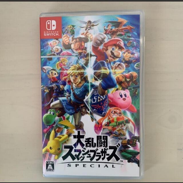 Nintendo Switch(ニンテンドースイッチ)の大乱闘スマッシュブラザーズ 任天堂Switch エンタメ/ホビーのゲームソフト/ゲーム機本体(家庭用ゲームソフト)の商品写真