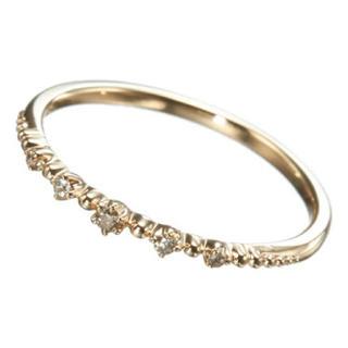ノジェス(NOJESS)のNOJESS ダイヤモンドピンキーリング(リング(指輪))