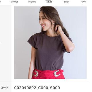 シールームリン(SeaRoomlynn)のsearoomlynn BASICサークルネックTシャツ(Tシャツ(半袖/袖なし))