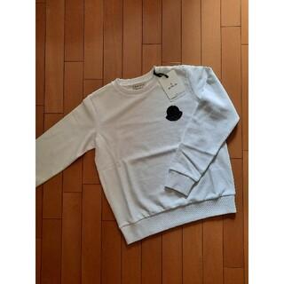 モンクレール(MONCLER)の⭐21SS /新品 MONCLER   ロゴパッチ トレーナー  希少14A(Tシャツ/カットソー(半袖/袖なし))