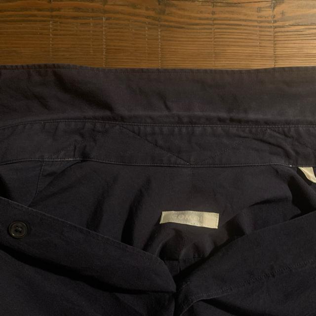 COMOLI(コモリ)の15SS comoli コモリシャツ ホワイト ネイビー サイズ2 セット メンズのトップス(シャツ)の商品写真