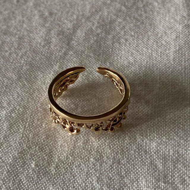 KAORU(カオル)のフュージョン リング K10 ピンクゴールド レディースのアクセサリー(リング(指輪))の商品写真