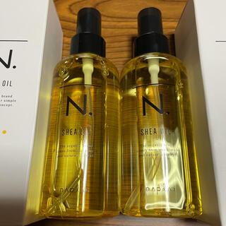 ナプラ(NAPUR)の新品正規品 N,シアオイル エヌドット 2本セット 箱なしにて発送(ヘアワックス/ヘアクリーム)