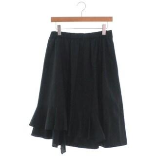 ブラックコムデギャルソン(BLACK COMME des GARCONS)のBLACK COMME des GARCONS ひざ丈スカート レディース(ひざ丈スカート)