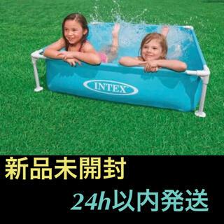 INDEX - インテックス ミニ フレームプール 青